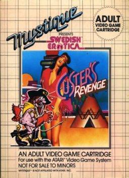 Play Custer's Revenge online (Sega Genesis)
