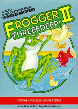 Play Frogger II - Threeedeep! online (Atari 2600)