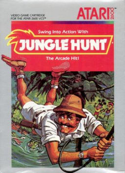 Play Jungle Hunt online (Atari 2600)