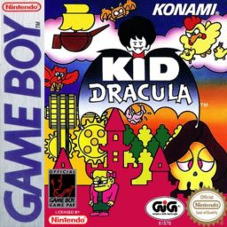 Play Kid Dracula online (Gameboy)