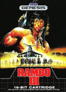 Play Rambo III online (Sega Genesis)