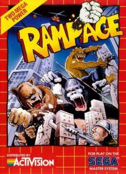 Play Rampage online (Sega Master System)