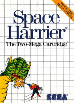 Play Space Harrier online (Sega Master System)