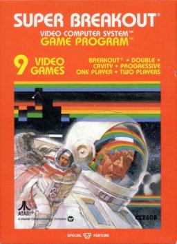 Play Super Breakout online (Atari 2600)