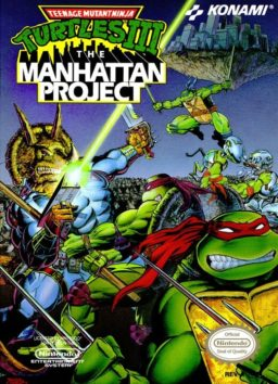 Play Teenage Mutant Ninja Turtles III - The Manhattan Project online - NES
