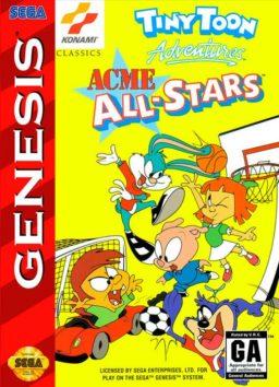 Play Tiny Toon Adventures - Acme All-Stars online (Sega Genesis)