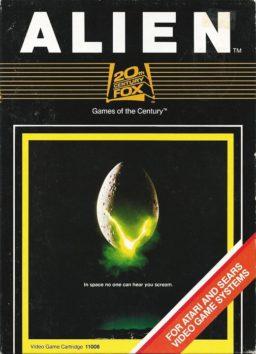 Play Alien online (Atari 2600)