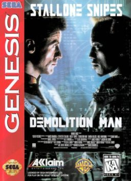 Play Demolition Man online (Sega Genesis)