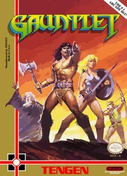 Play Gauntlet online (NES)