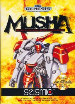 Play M.U.S.H.A. online (Sega Genesis)