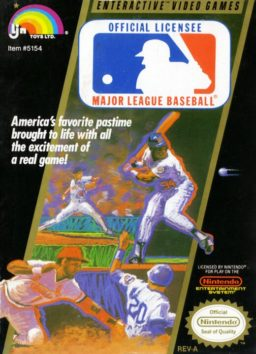 Play Major League Baseball online (NES)