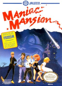 Play Maniac Mansion online (NES)