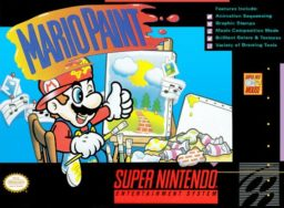 Play Mario Paint online (SNES)
