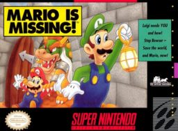 Play Mario is Missing! online (SNES)