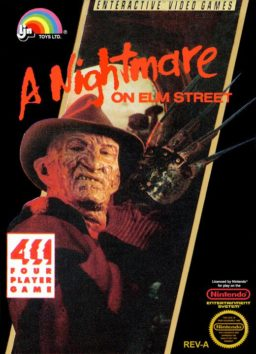 Play Nightmare on Elm Street online (NES)