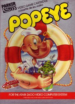 Play Popeye online (Atari 2600)
