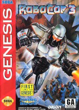 Play RoboCop 3 online (Sega Genesis)