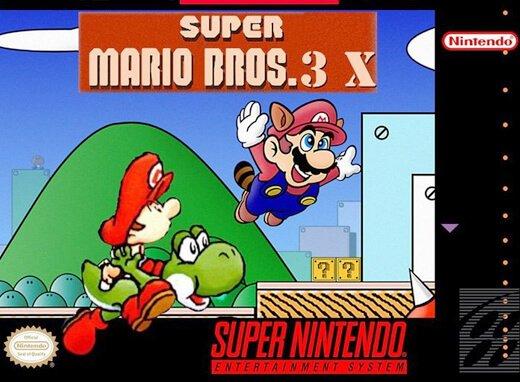 Play Super Mario Bros 3x Online Snes