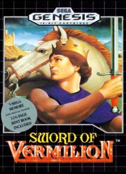 Play Sword of Vermilion online (Sega Genesis)