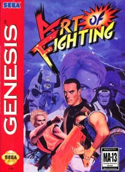 Play Art of Fighting online (Sega Genesis)