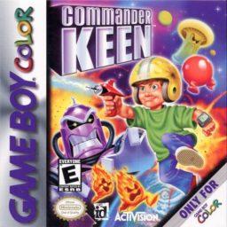 Play Commander Keen online (Gameboy Color)