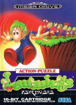 Play Lemmings online (Sega Genesis)
