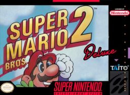Play Super Mario Brothers 2 Deluxe online (SNES)