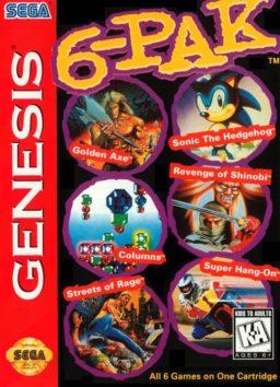 Play 6-Pak online (Sega Genesis)