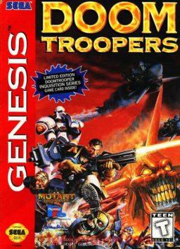 Play Doom Troopers - The Mutant Chronicles online (Sega Genesis)