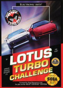 Play Lotus Turbo Challenge online (Sega Genesis)