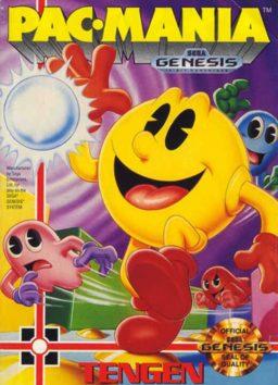 Play Pac-Mania online (Sega Genesis)