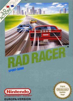 Play Rad Racer online (NES)