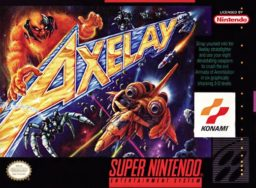 Axelay (SNES) game cover