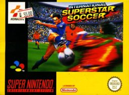 International Superstar Soccer SNES front cover