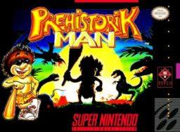 Prehistorik Man SNES front cover