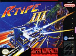 R-Type III - The Third Lightning (SNES) front cover