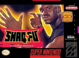 Shaq Fu SNES front cover